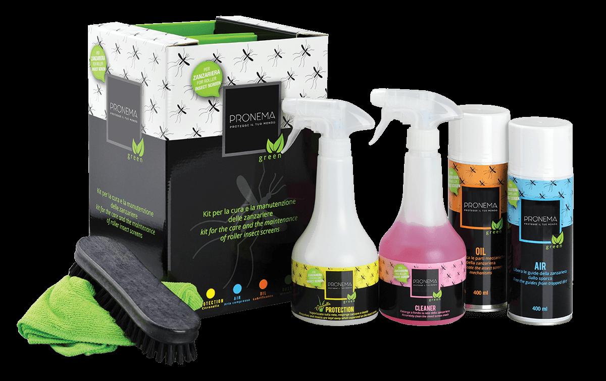 Prodotti per pulire zanzariere - Kit ZAC cura e pulizia della zanzariera